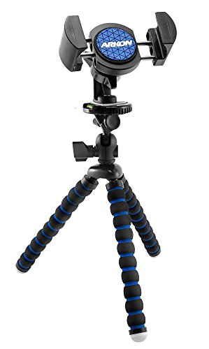 Arkon 11 inch Tripod Mount with Phone Holder for Live Mobile