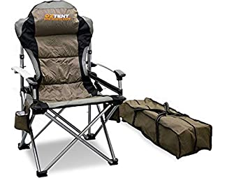 OzTent King Kokoda Camping Outdoor Chair With Lumbar Support