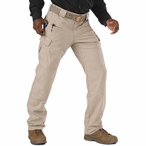 5.11 Tactical 74369 Stryke Cargo Pants w/Flex-Tac Rip Stop Fabric, Khaki, 38X30 by 5.11