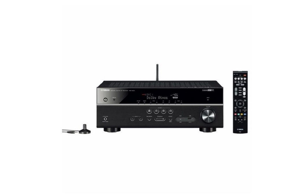 Yamaha TSR-5810 7.2-channel Network AV Receiver with Bluetooth and Wi-Fi Streaming Capabilities - Black by Yamaha