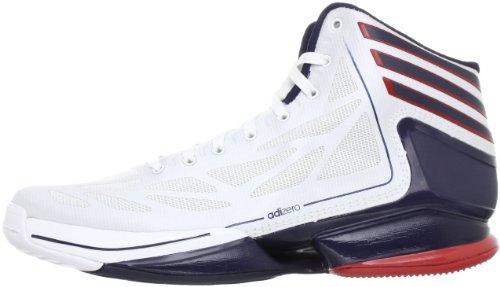adidas ,  Scarpe da basket uomo bianco
