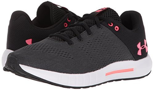 Armour Negro Micro Pursuit de Running W Mujer 001 para Brilliance Zapatillas Anthracite Black Under UA G adxq4A4