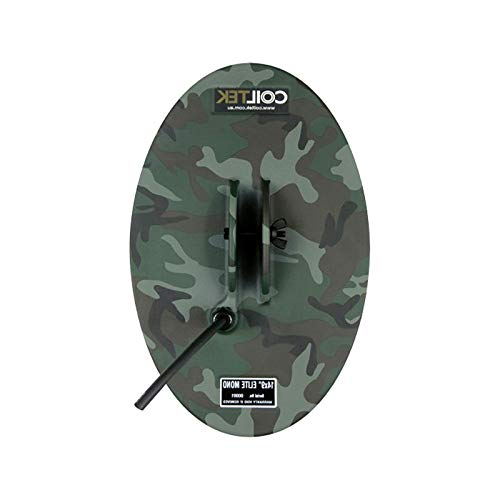 HealthyBells 14 inch x 9 inch Mono Camo Search Coil for SD GP and GPX ()