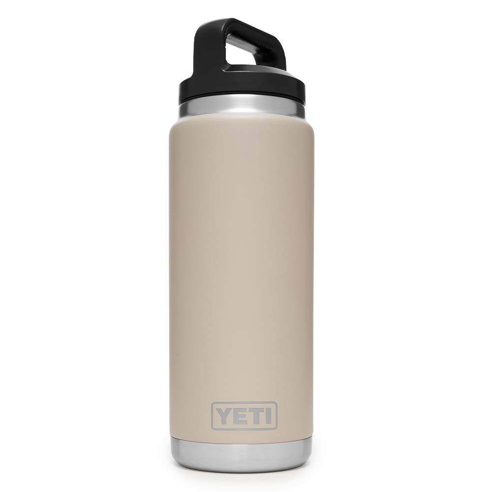 YETI Rambler 26 oz Stainless Steel Vacuum Insulated Bottle with Cap, Sand