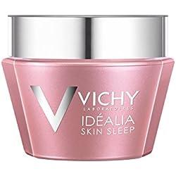 Vichy Idéalia Skin Sleep Recovery Night Cream with Caffeine and Hyaluronic Acid, 1.69 Fl. Oz.