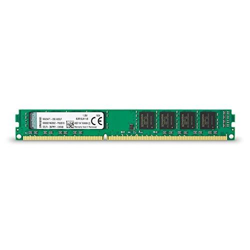 Memória Desktop Kingston DDR3 KVR16LN11/8, 8GB, 1600MHZ, DDR3L, NON-ECC CL11, UDIMM 1.35V