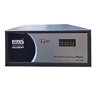 Whirlpool Refrigerators- Duromax DMNVX1205-D2 Stabilizer with 1 yr Replacement Warranty- Upto 450L, Blue Grey