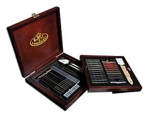 Royal & Langnickel Premier Sketch Pencil Art Set, 51-Piece
