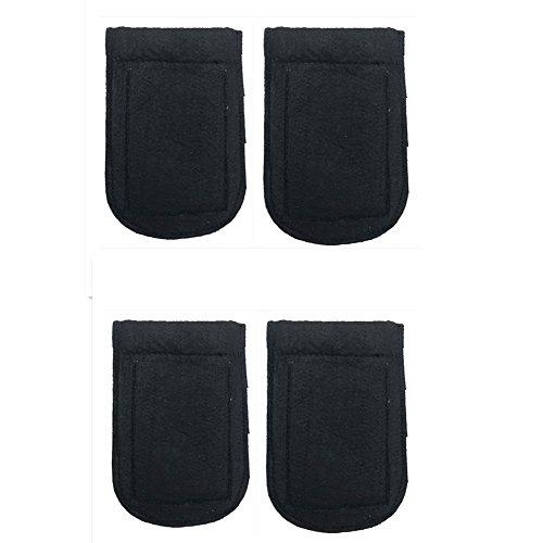 ALLENLIFE Pocket Square Card Holder, Men's Suit Handkerchief Keeper for Man's Suits (4 Pack) by ALLENLIFE (Image #5)