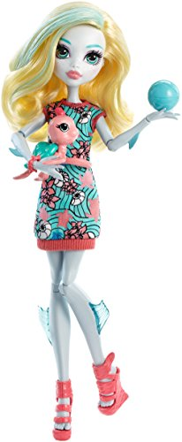Monster High Ghoul's Beast Pet Lagoona Blue Doll