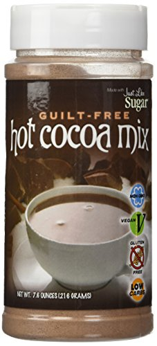 Hot Chocolate Mix - Guilt/Sugar Free Hot Cocoa Mix by Just Like Sugar 7.6oz