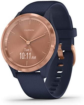 Oferta amazon: Garmin Vívomove 3S Sport Reloj Inteligente, Gold y Azul, Small