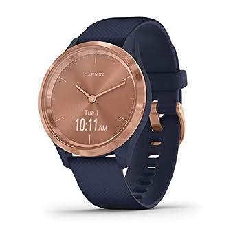 Garmin Vívomove 3S Sport Reloj Inteligente, Gold y Azul, Small ...