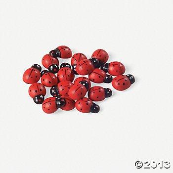 (Fun Express Self-Adhesive Ladybugs - 50)