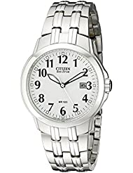 Citizen Mens BM7090-51A Classic Stainless Steel Eco-Drive Watch