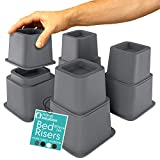 Home Intuition Heavy Duty Adjustable Bed Risers