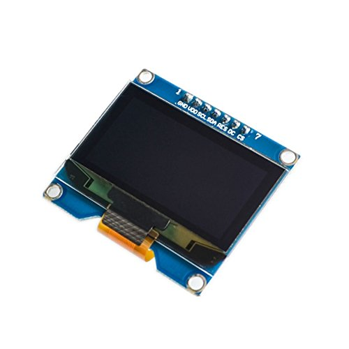 Chironal Wholesale 1.54 inch 7PIN White OLED Screen Module SSD1309 Drive IC Compatible for SSD1306 IIC/SPI Interface 12864