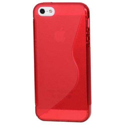Monkey Cases® iPhone 4 / 4s - Silikon Case - ROT - Handyhülle - ORIGINAL - NEU/OVP