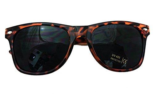 - Shaderz Classic Tortoise Brown Retro 80's Wayfarer Sunglasses