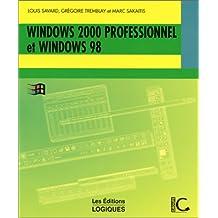 Windows 2000 professionnel et wind 98