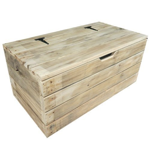 the latest 4e2ee ac608 BARGAIN - Handmade Wooden Trunk, Chest, Blanket Box, Coffee Table, Ottoman,  Bench Seat - Reclaimed & Upcycled