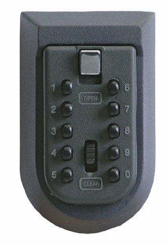 Rottner Schlüsseltresor Keykeeper – für den Außenbereich – wetterfestes Cover – zur Wandbefestigung – Schlüsselaufbewahrung – Schlüsselkasten 4653
