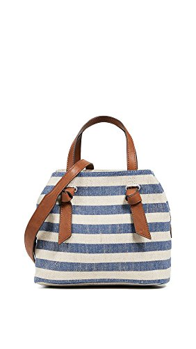 (Splendid Women's Bodega Satchel, Metallic Stripe Blue, One Size)