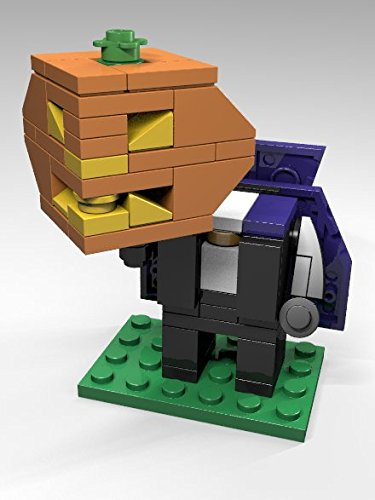 Amazon Constructibles Cubeville Headless Horseman Lego
