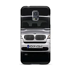 Hot Style MNX7467wHaM Protective Cases Covers For GalaxyS5(bmw X5 M Sport Pack Front)