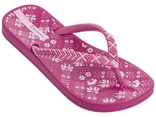 Ipanema Ana Lovely II Girls' Flip Flops, Pink (12 US) -