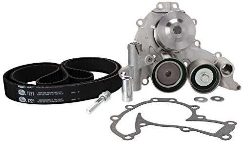 Gates TCKWP221A Timing Belt Component Kit with Water Pump -