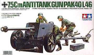 35 German Gun (1/35 German 7.5cm Pak40 AT Gun)