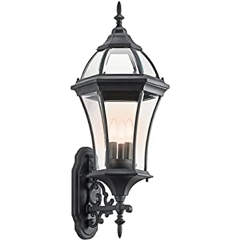 This item Kichler Lighting 49185BK 3 Light Townhouse Bracket Outdoor Sconce   BlackKichler Lighting 49185BK 3 Light Townhouse Bracket Outdoor Sconce  . Kichler Lighting Outdoor Sconce. Home Design Ideas