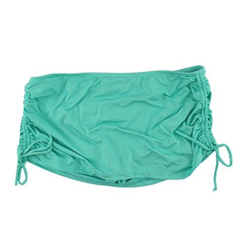 Apt. 9 Green Side Tie Swim Skirtini Bottoms for Women (10) from Apt 9
