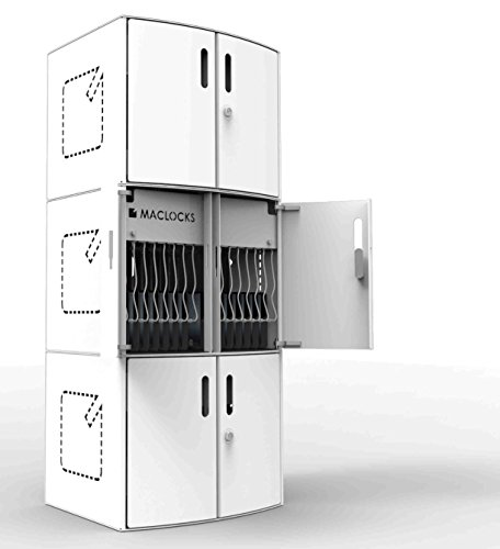 Maclocks SOLO-US CartiPad Solo Modular iPad/Tablet and UltraBook Charging Storage Cabinet for Up To 16 Devices by Compulocks (Image #5)