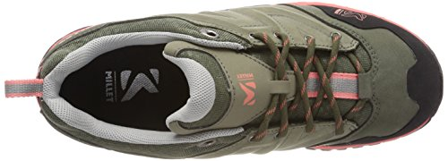 Millet LD Hike Up, Zapatos de Low Rise Senderismo Para Mujer Verde (Vetiver/peach)