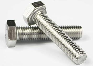 8.8 12mm M12 Zinc Plated Hexagon Head Fully Threaded Bolts Hex Set Screw