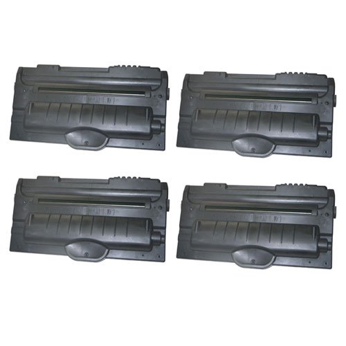 Image of Amsahr 310-5417 Dell 310-5417, 1600, 1600n X501 Compatible Replacement Toner Cartridge with Four Black Cartridges Laser Printer Drums & Toner