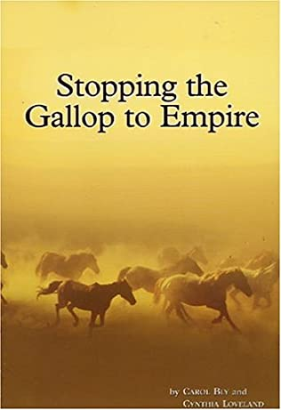 book cover of Stopping the Gallop to Empire