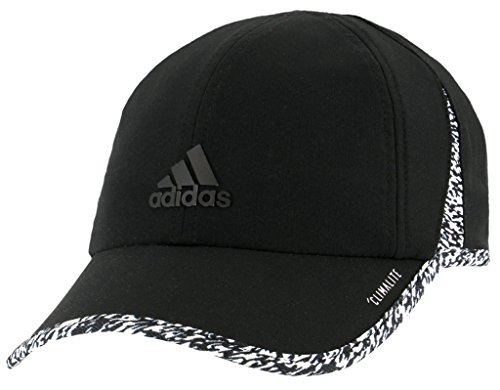 Training Womens Baseball Fitted (adidas Women's Superlite Relaxed Adjustable Performance Cap, Black/White/Dye Pixel, One Size)