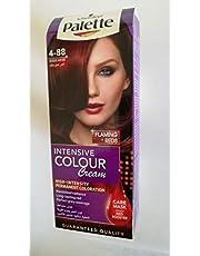 صبغة شعر كريم دائمة للنساء، لون احمر غامق مركز 4-88 - 3838824239705، من باليت