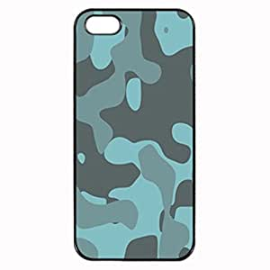 BLUE SOFT CAMOUFLAGE Pattern Image Protective iphone 4 / iPhone 4S Case Cover Hard Plastic Case For iPhone 5/5s
