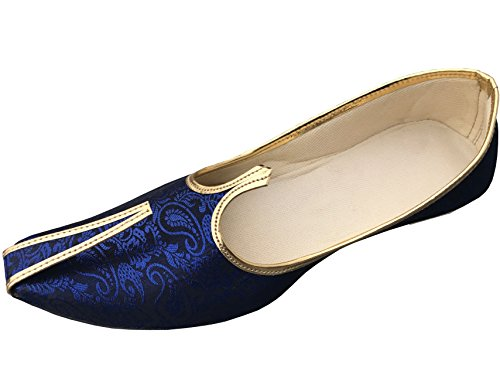 BombayFlow Men's Punjabi Jutti Indian Dress Wedding Shoes JATT (11 D(M) US)
