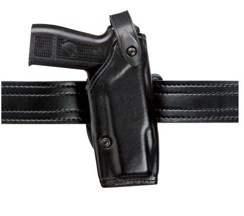 Safariland 6287 SLS Belt Slide Taser X-26 Holster, Plain Black, (Cross Draw Taser Holster)