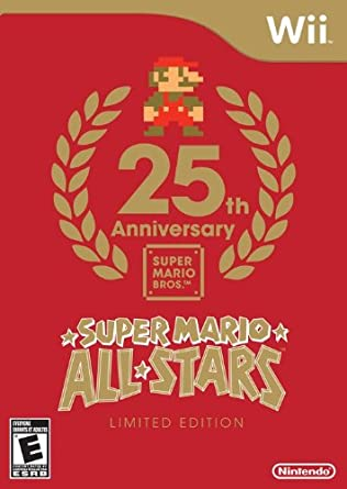 Amazon Com Super Mario All Stars Limited Edition Super Mario All Stars Ltd Game Video Games