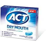 ACT Total Care Soothing Mint Dry Mouth Lozenges 18 Ea Pack of 2