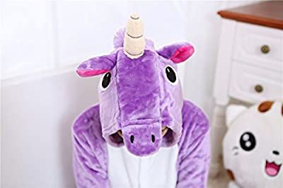 Halloween Unicorn Onesie Costume Adult Animals Blue Unicorn Pajamas Cute Sleepwear