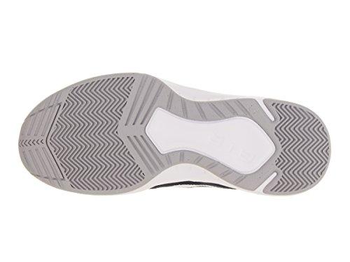 Nike Mens The Air Overplay Ix Scarpe Da Basket Ossidiana / Lupo Grigio / Bianco