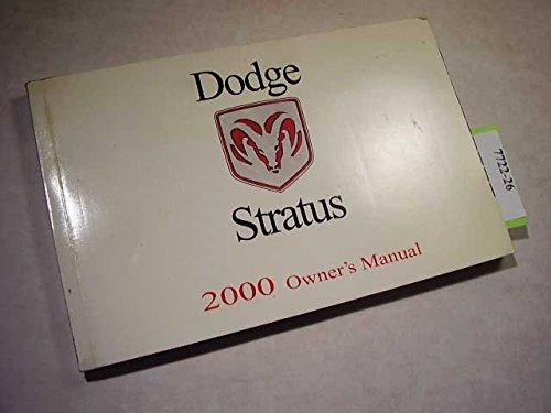 2000-dodge-stratus-owners-manual