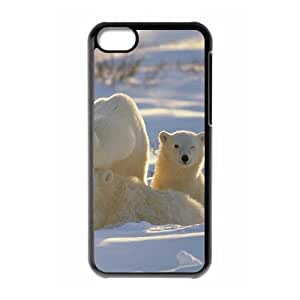 Protection Cover Hard Case Of Polar Bear Cell phone Case For Iphone 5C by icecream design